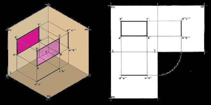 Proyecci n de planos planos paralelos dibujo t cnico for Plano de un vivero forestal