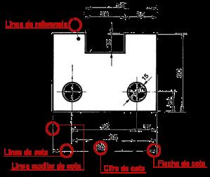 Elementos de acotaci n dibujo t cnico for Elementos arquitectonicos pdf