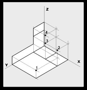 17 Representación Isométrica