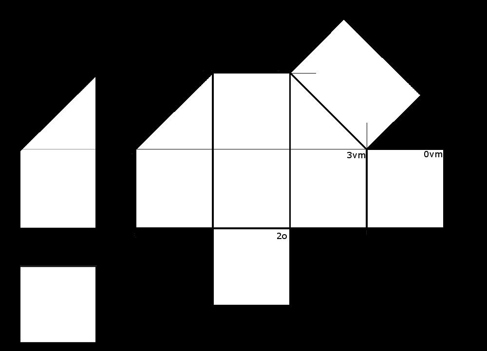 4. Desarrollo de un prisma truncado