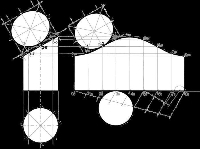 3. Desarrollo de un cilindro, paso a paso